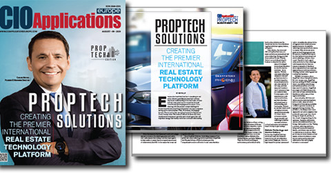 PropTech Solutions, the Parent Company of Phoenix Software, Recognized as a Top 10 PropTech Solution Provider in 2019 by CIO Applications Europe